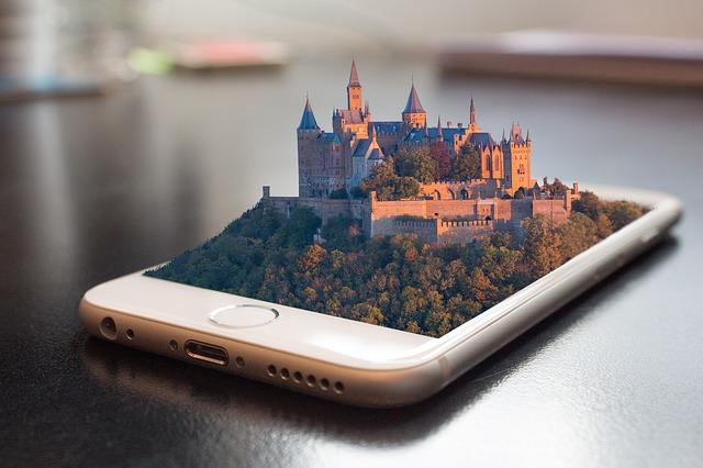 hrad na mobilu